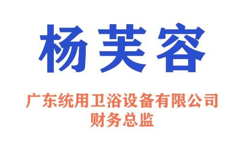 广东统用卫浴设备有限公司财务总监