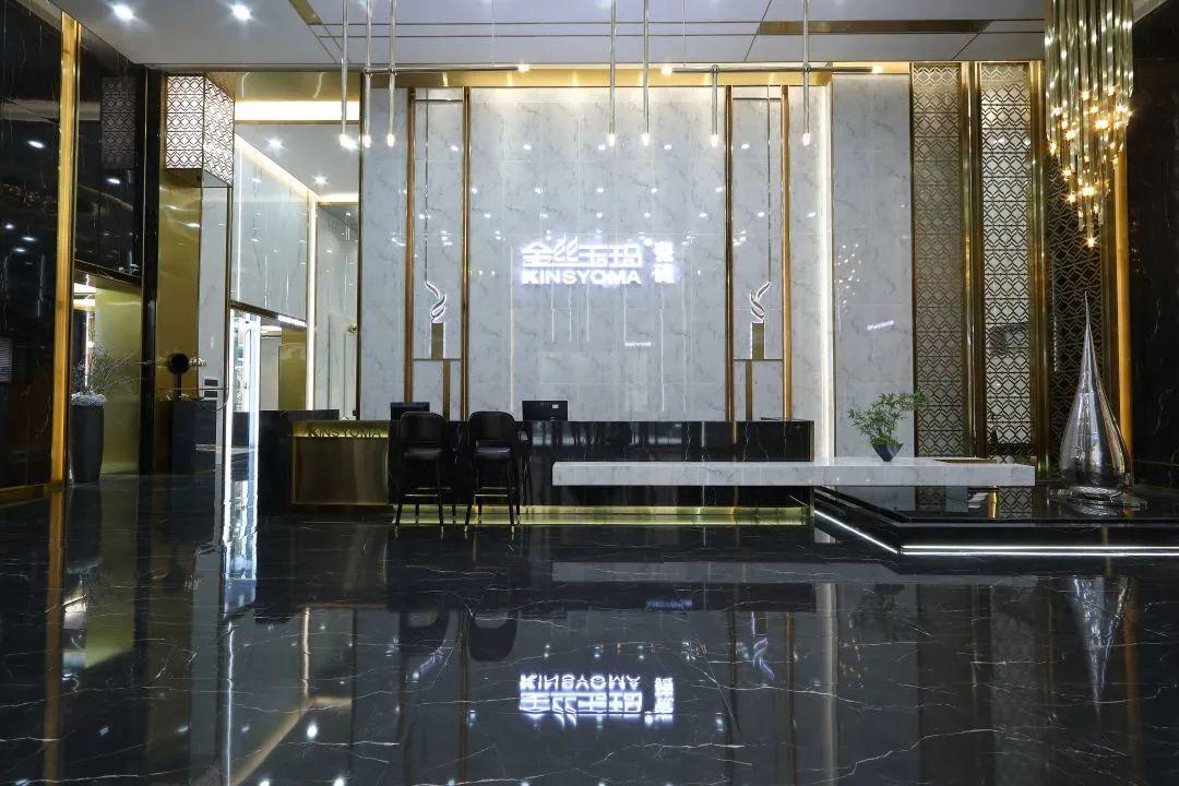 佛山陶瓷金丝玉玛瓷砖高端大气的展厅
