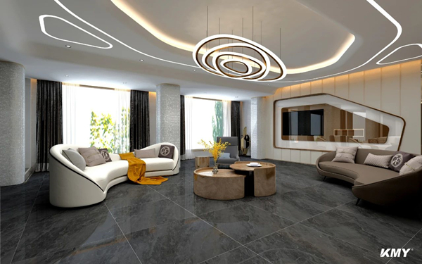 陶瓷十大品牌KMY2020客厅装修效果图