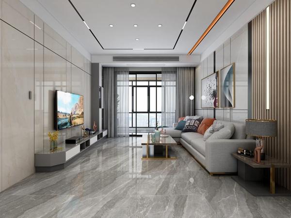 瓷砖十大品牌LUNGO朗宝750*1500mm岩板效果图