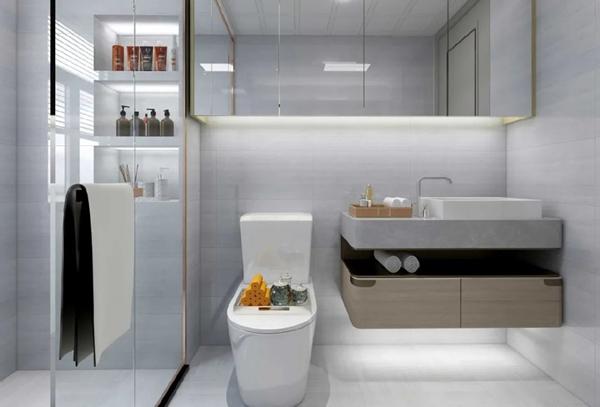 轻奢风格装修图片浴室