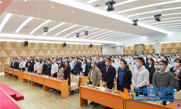 新明珠陶瓷集团召开2021新春工作会议:集万人智慧,向百亿冲刺