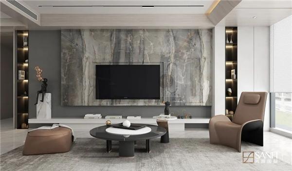 兴辉瓷砖1200*2400连纹大岩板