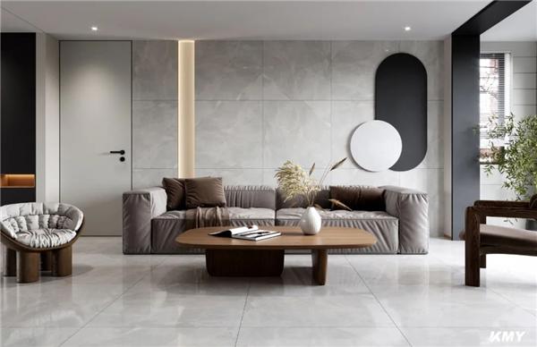 KMY国际轻奢瓷砖900*1800mm大板岩背景墙