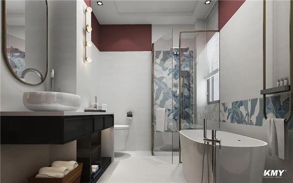 浴室背景墙