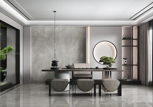宏宇陶瓷简奢新中式风格