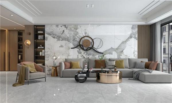 新润成瓷砖全规格岩板盛世美岩,大有可为
