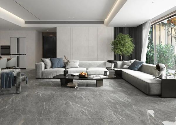 未来家居萨米特岩板700*1500mm无限连纹瓷砖