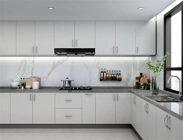 陶瓷十大品牌,马可波罗厨房设计案例效果图