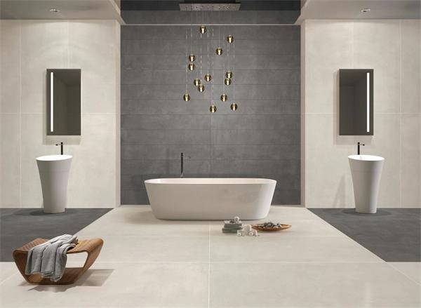 嘉尼亚陶瓷900*1800微水泥·素色印象系列