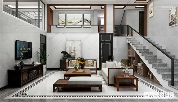 马可波罗轻奢新中式水刀拼花瓷砖