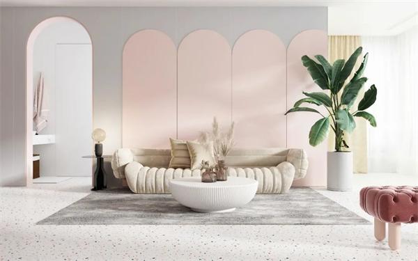 金朝阳纯色岩板个性化的家居设计