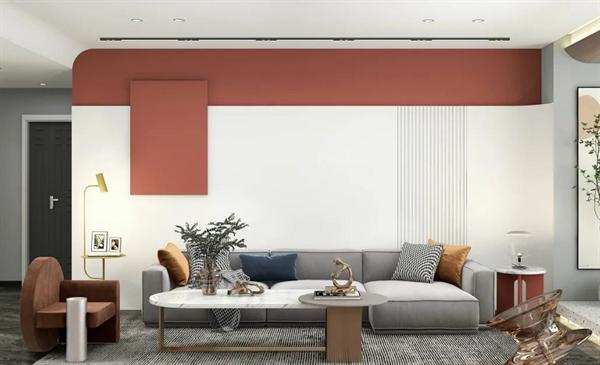 马可波罗岩板家居中国红与白色完美搭配