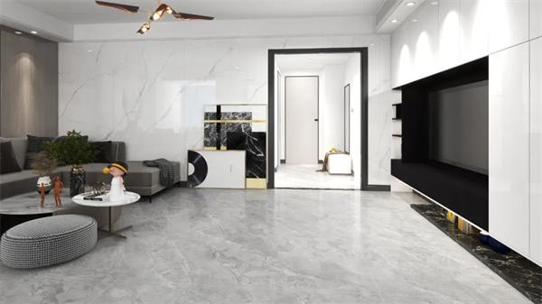 岩板十大品牌,壹加壹岩板独特灰色凝刻古老的浪漫时光