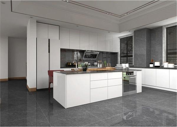 陶瓷十大品牌KMY国际轻奢瓷砖流行的厨房装修风格