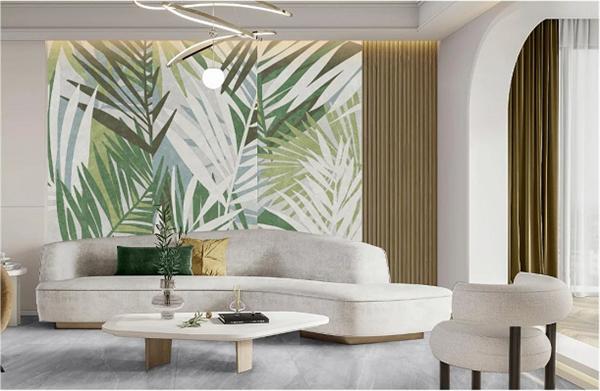 以自然之美诠释诗意栖居,东鹏清风竹影系列岩板背景墙