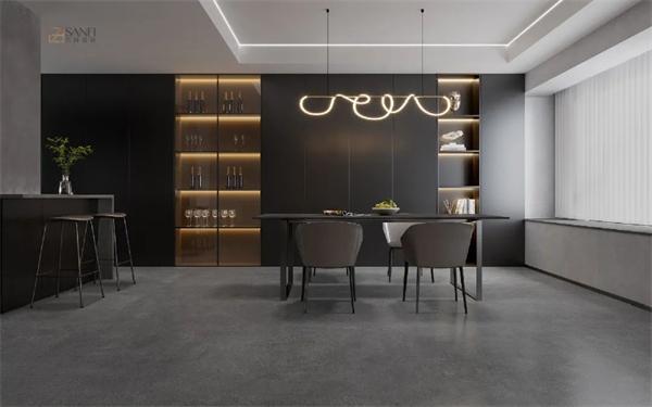 简美系列岩板新品,兴辉国际900*1800mm岩板独爱简单之美